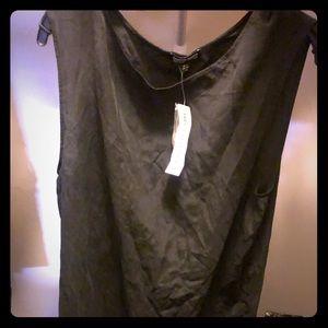 Xs oversized Silk dress brand new